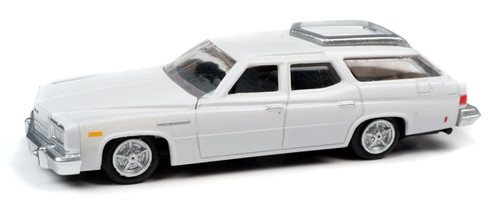 Classic Metal Works HO 30609 1976 Buick Estate Wagon, Liberty White