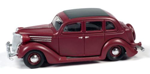 Classic Metal Works HO 30612 1936 Ford Sedan, Ford Maroon