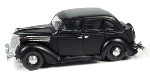 Classic Metal Works HO 30613 1936 Ford Sedan, Black