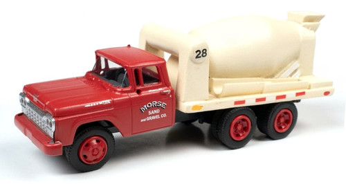 Classic Metal Works HO 30615 1960 Ford Cement/Concrete HD Truck, Morse Sand and Gravel