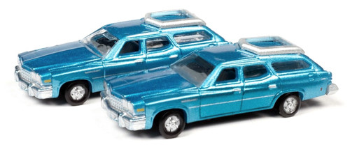 Classic Metal Works N 50420 1976 Buick Estate Wagons, Potomac Blue Poly (2)