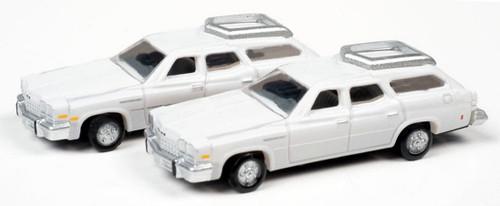 Classic Metal Works N 50421 1976 Buick Estate Wagons, Liberty White (2)