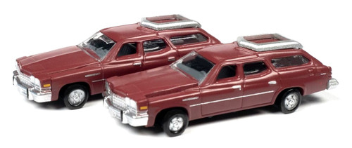 Classic Metal Works N 50422 1976 Buick Estate Wagons, Independence Red (2)