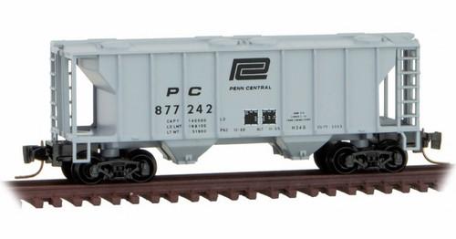 Micro-Trains Z 53100352 2-Bay Covered Hopper, Penn Central #877242