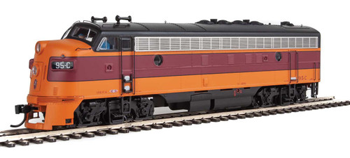 Walthers Proto HO 920-49507 FP7, Milwaukee Road #95C