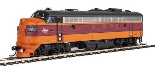 Walthers Proto HO 920-49508 FP7, Milwaukee Road #98C