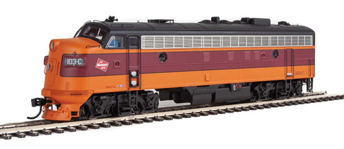Walthers Proto HO 920-49509 FP7, Milwaukee Road #103C