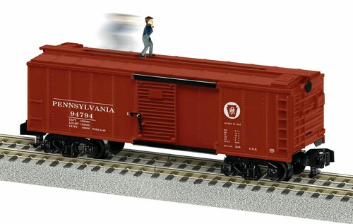 Lionel S 2019480 American Flyer Walking Brakeman Car, Pennsylvania Railroad