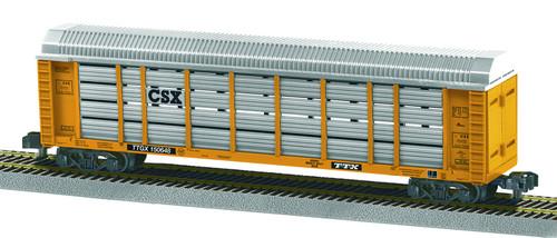 Lionel S 6-42591 American Flyer Auto Carrier, CSX/TTX #150648