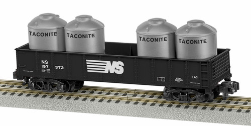 Lionel S 6-47964 American Flyer Gondola with Containers, Norfolk Southern #197572