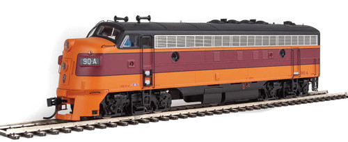 Walthers Proto HO 920-42500 FP7 A/B, Milwaukee Road #90A/90B