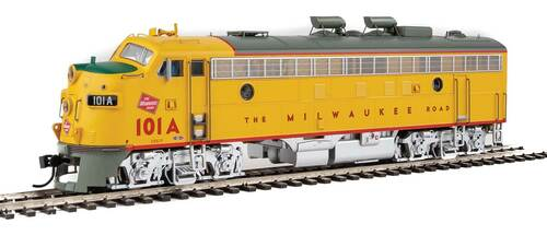 Walthers Proto HO 920-42505 FP7 A/B, Milwaukee Road #99A/102B