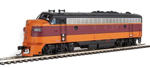 Walthers Proto HO 920-42507 FP7, Milwaukee Road #90C