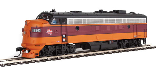 Walthers Proto HO 920-42509 FP7, Milwaukee Road #102C