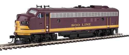 Walthers Proto HO 920-42520 FP7/F7B, Soo Line #501A/501C