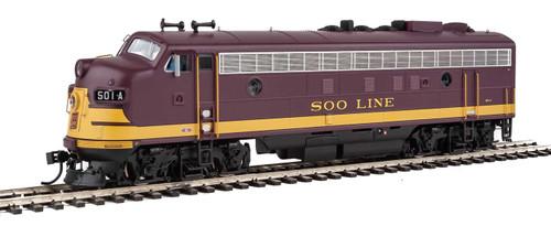 Walthers Proto HO 920-49521 FP7/F7B, Soo Line #2501A/2501C
