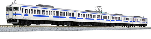 Kato N 101539 Series 415 100th Generation 4-Car Add-On Set (Kyushu)