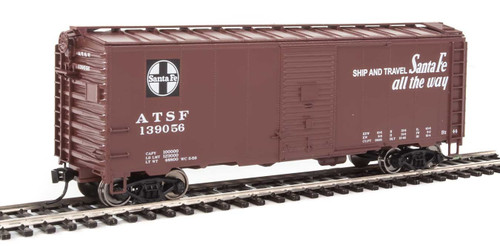 Walthers Mainline HO 910-1332 40' AAR 1944 Box Car, Santa Fe #139056