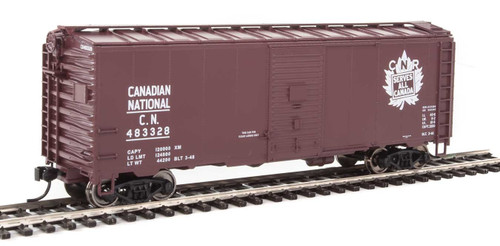 Walthers Mainline HO 910-1335 40' AAR 1944 Box Car, Canadian National #483328