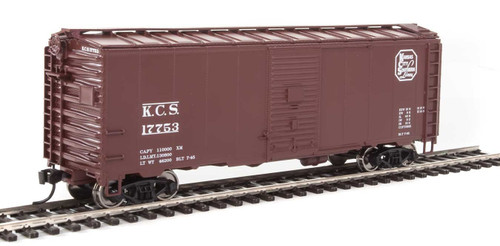 Walthers Mainline HO 910-1340 40' AAR 1944 Box Car, Kansas City Southern #17753