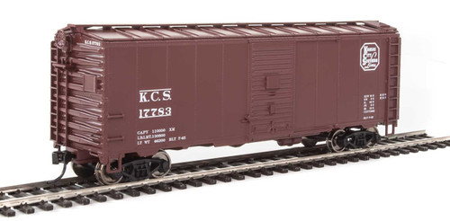 Walthers Mainline HO 910-1341 40' AAR 1944 Box Car, Kansas City Southern #17783