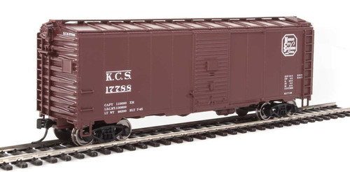 Walthers Mainline HO 910-1342 40' AAR 1944 Box Car, Kansas City Southern #17788
