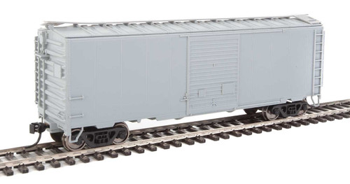 Walthers Mainline HO 910-2250 40' ACF Welded Box Car with 8' Door, Undecorated