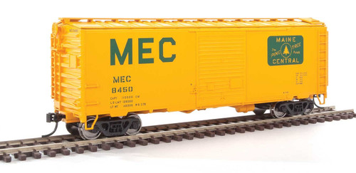 Walthers Mainline HO 910-2258 40' ACF Welded Box Car with 8' Door, Maine Central #8450