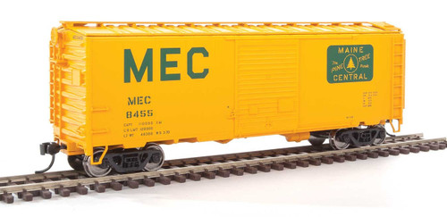 Walthers Mainline HO 910-2259 40' ACF Welded Box Car with 8' Door, Maine Central #8455