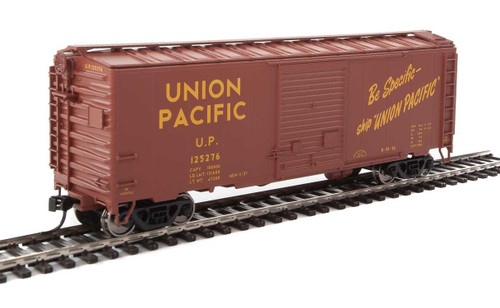 Walthers Mainline HO 910-2263 40' ACF Welded Box Car with 8' Door, Union Pacific #125276