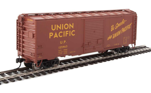 Walthers Mainline HO 910-2265 40' ACF Welded Box Car with 8' Door, Union Pacific #125963