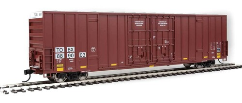 Walthers Mainline HO 910-3002 60' High-Cube Plate F Box Car, TTX #889003