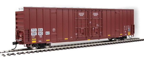 Walthers Mainline HO 910-3004 60' High-Cube Plate F Box Car, TTX #889042