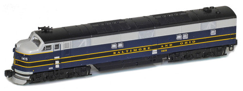 American Z Line Z 64610-1 EMD E7A Diesel Locomotive, Baltimore and Ohio #1415