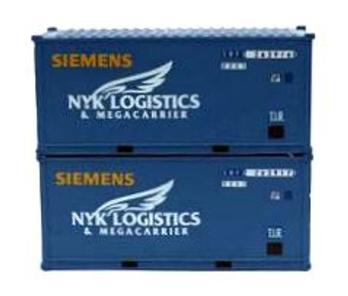 Jacksonville Terminal Company N 205439 20' Standard Height Containers with Magnetic System, Siemens Wind Power (2)