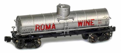 American Z Line Z 915000-1 8,000 Gallon Tank Car, Roma Wine #4584