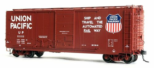 Tangent Scale Models HO 26062-07 40' PS-1 Combination Door Box Car, Union Pacific #111134