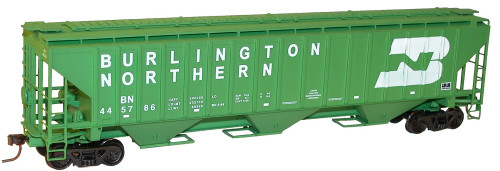 Accurail HO 65021 Pullman Standard 3-Bay Covered Hopper Kit, Burlington Northern