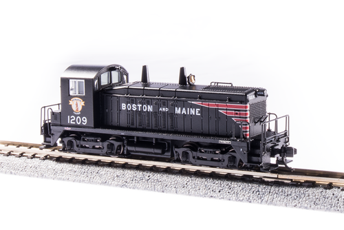 Broadway Limited Imports N 3910 EMD NW2, Boston and Maine #1209