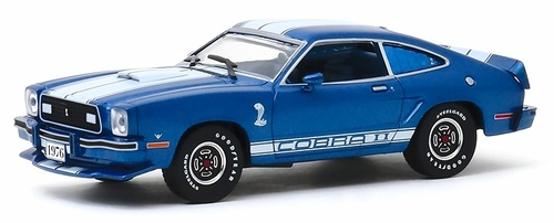 Greenlight Collectibles O 86336 1978 Ford Mustang II Cobra II, Blue (1:43)