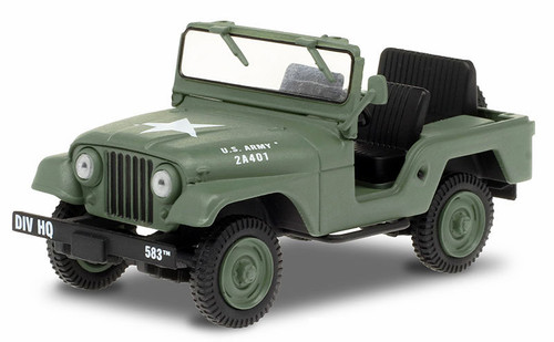 Greenlight Collectibles O 86590 1952 Willys M38A1 Jeep, M*A*S*H (1:43)