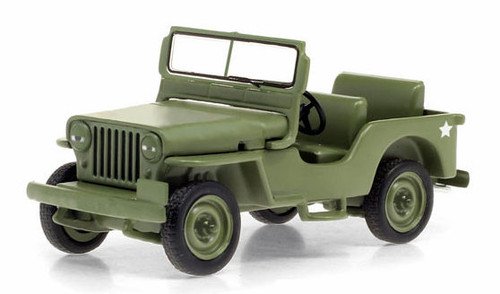 Greenlight Collectibles O 86592 1949 Willys Jeep CJ-2A, M*A*S*H (1:43)