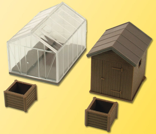 Kibri HO 38144 Greenhouse Kit