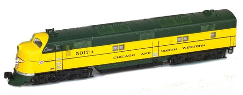 American Z Line Z 64613-1 EMD E7A, Chicago and North Western #5017