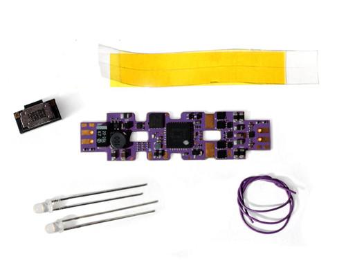 Soundtraxx N 885032 TSU-KN1 Tsunami2 (500mA) Digital Sound Decoder with Complete Installation Kit