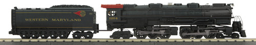 MTH RailKing O 30-1820-1 4-6-6-4 Imperial Challenger Steam Engine, Western Maryland #1204