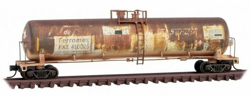 Micro-Trains N 11044530 Weathered 53' General Service Tank Car, Ferromex (ex-NdeM)