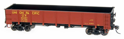 Intermountain HO 35021-41 Drop Bottom Gondola with Steel Sides, Union Pacific #65222