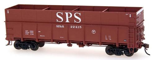 Intermountain HO 35203-47 Woodchip Gondola with Steel Sides, Spokane Portland and Seattle #22442