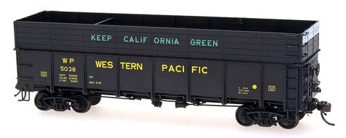 Intermountain HO 35204-19 Woodchip Gondola with Steel Sides, Western Pacific #5005